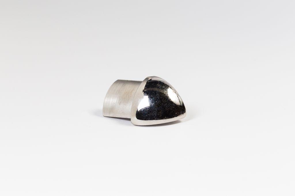 ACÉL külső sarok 12,5mm CPJAC125 2db/cs polírozott rozsdamentes acél MEGSZŰNŐ