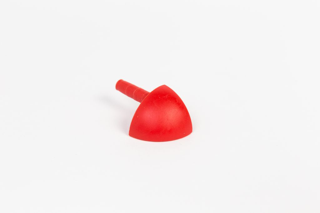 PVC külső sarok 8mm CPJE0810 piros MEGSZŰNŐ