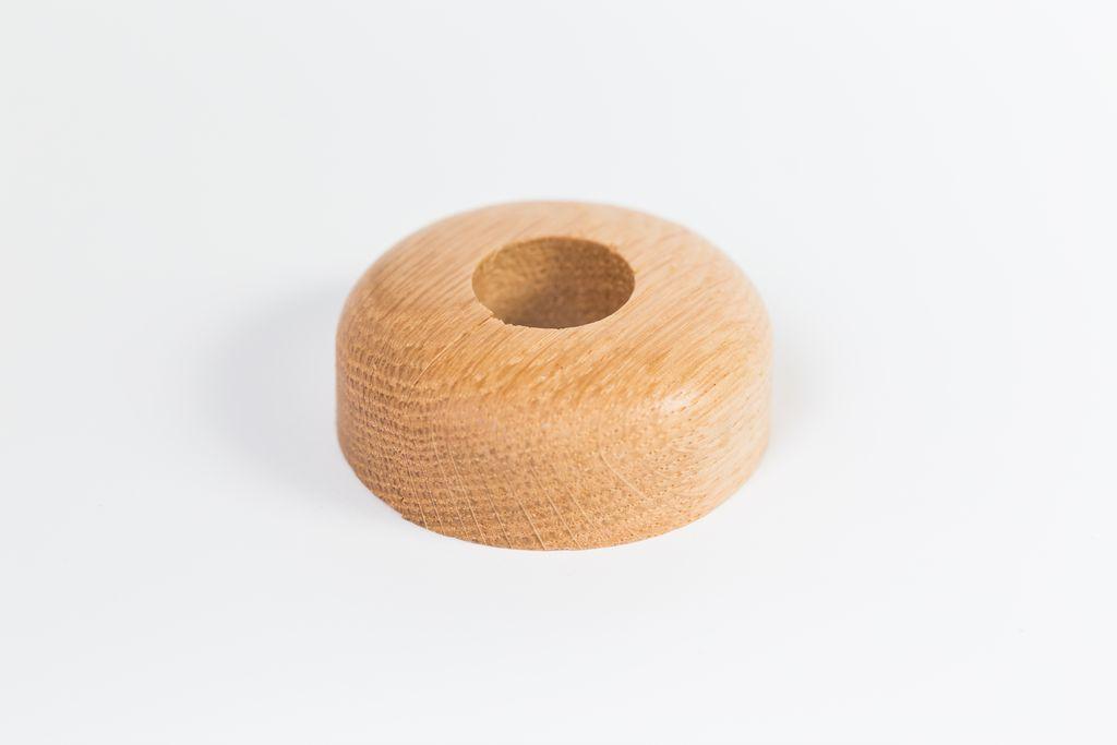 Csőrózsa fa 18mm tölgy 1db/Cs