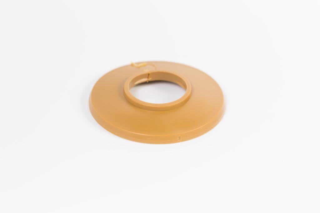 Csőrózsa PVC 18mm bükk / tölgy 1db/Cs