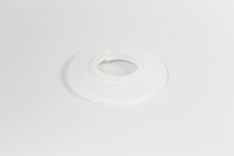 Csőrózsa PVC 22mm fehér 1db/Cs