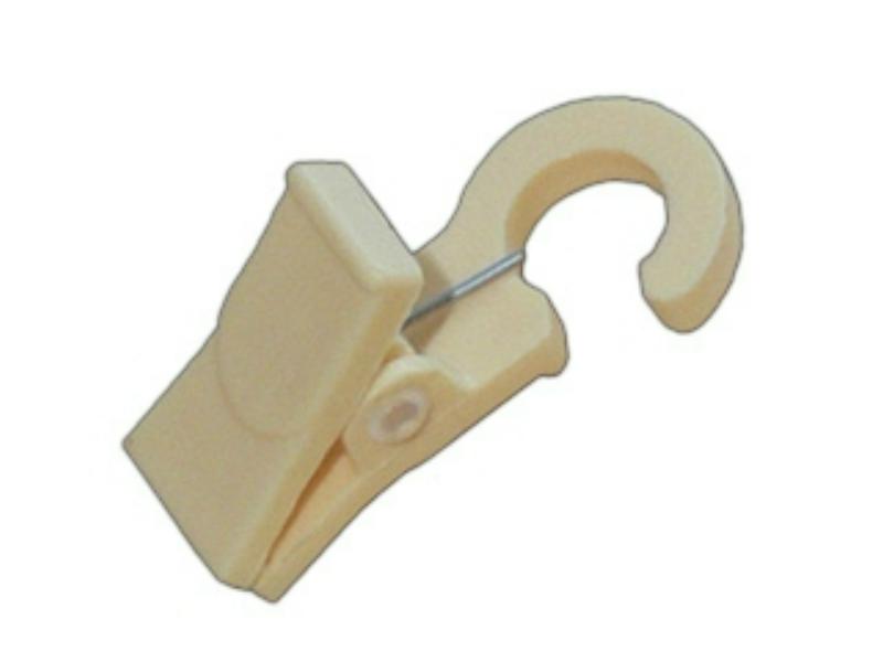 Műanyag csipesz a fa karnis szettekhez - Fenyő - 10db/cs