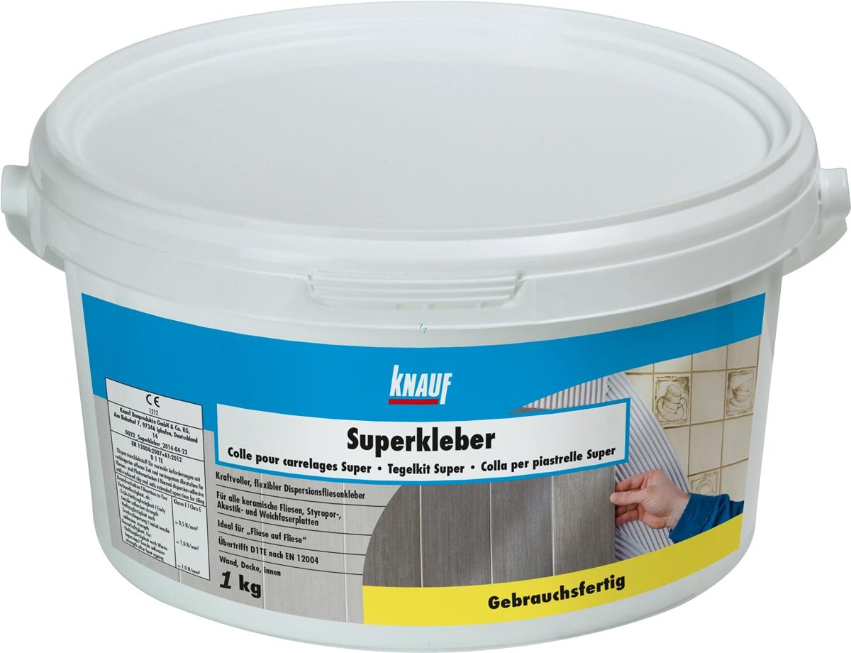 Knauf Superkleber 1kg univerzális diszperziós ragasztó