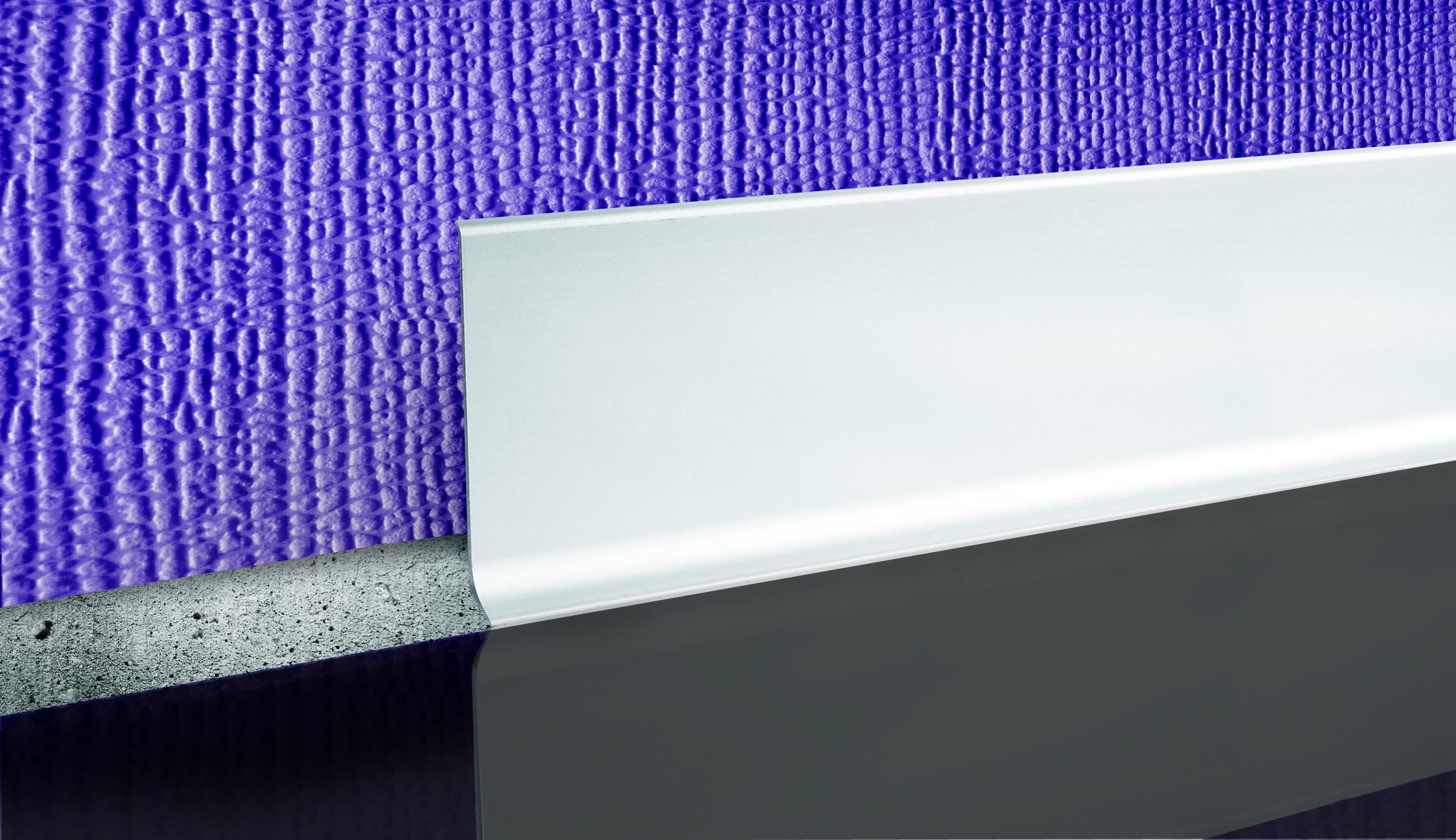 Alumínium szegélyléc - LP80