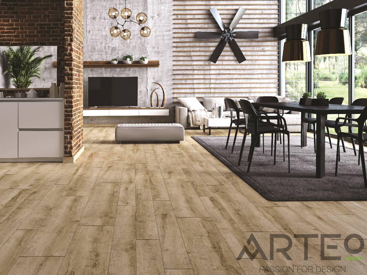 Arteo 8mm XL 49717 Picos tölgy 129cmx28cm - 33/AC5 - 2,176m2 ÁTALAKULÓ