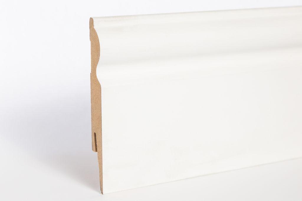 MDF fehér, festhető szegélyléc - ARBITON