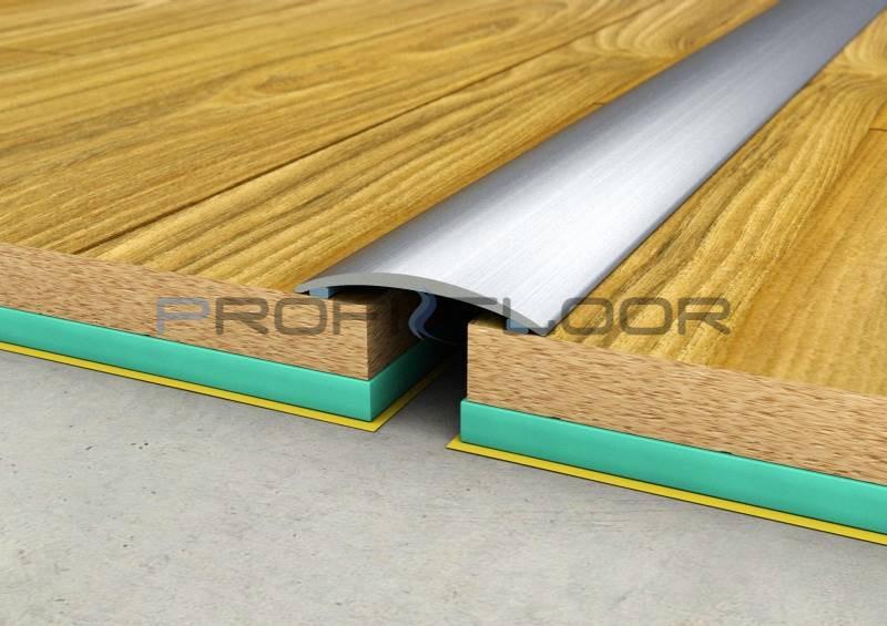 ALU PROFIL PF1 ProfiFloor 2,7m ezüst öntapadós padlóprofil - 30mm