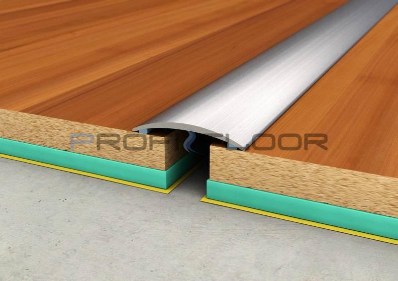 ALU PROFIL PF1 ProfiFloor 2,7m titán öntapadós padlóprofil - 30mm