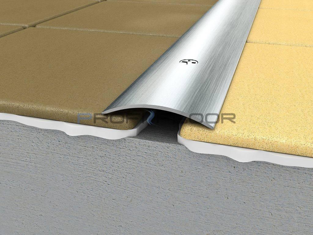 ACÉL padlóprofil PFA2 2,7m ProfiFloor lefúrható, szálcsiszolt - 30mm
