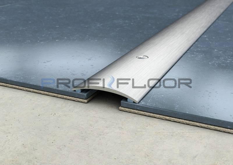 ACÉL padlóprofil PFA4 2,7m ProfiFloor lefúrható, szálcsiszolt - 40mm