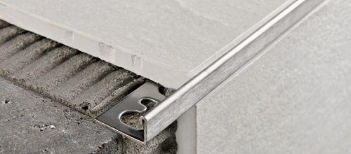 ACÉL L 10mm profil 2,7M PTAC10 polírozott rozsdamentes acél