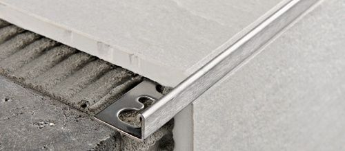 ACÉL L 12,5mm profil 2,7M PTAC125 polírozott rozsdamentes acél