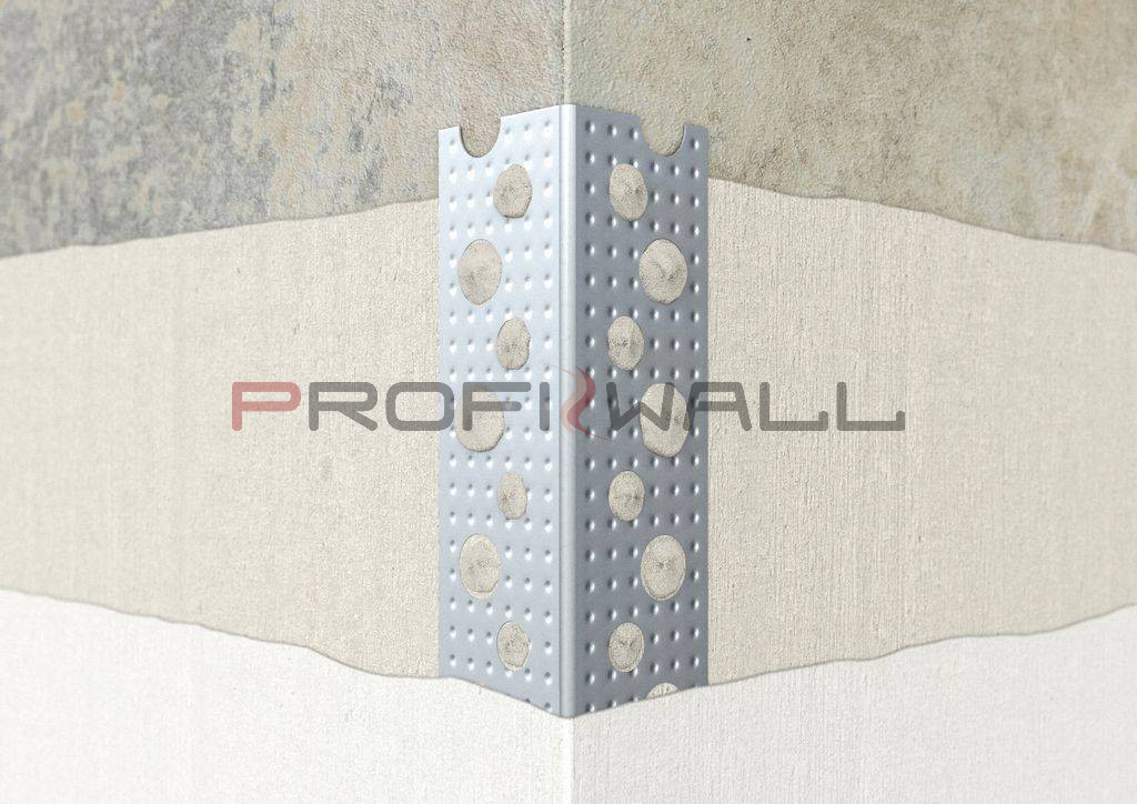 ACÉL sarokprofil 20x20mm galvanizált 2,7M ProfiWall