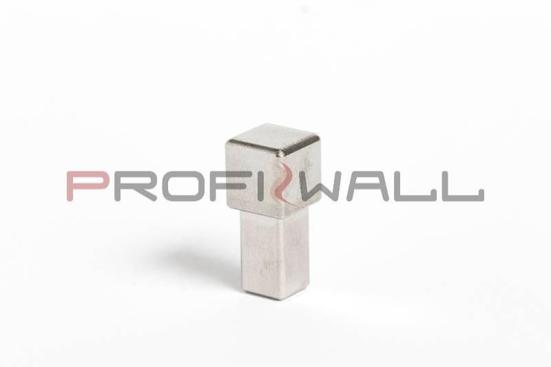 ACÉL SAROK 12,5mm ProfiWall rozsdamentes acél - fényes