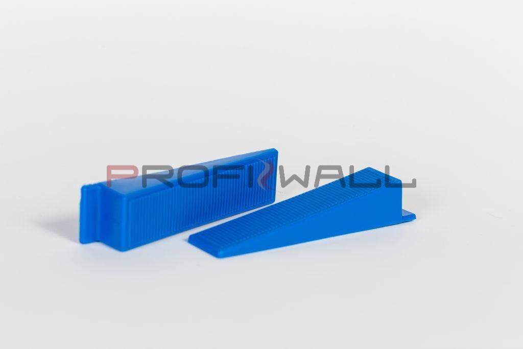 Lapszintező ék - kék - 100db/cs