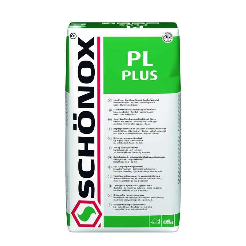 SCHÖNOX PL Plus 25kg Univerzális kiegyenlítő- és simítóhabarc